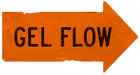 Gel flow orange