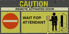 Underground caution remote door1