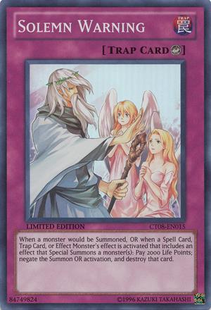 Bottomless vs Warning - Yu-Gi-Oh! TCG/OCG Card Discussion ...
