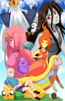 Adventure-Time-in-Anime-adventure-time-with-finn-and-jake-30701937-485-750