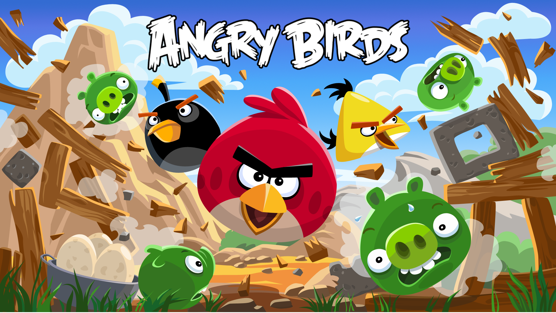 angry birds addicting