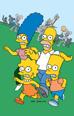 Itchy & Scratchy Land (Promo Picture) 2