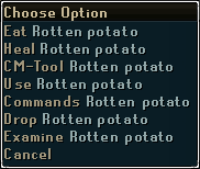 Rotten potato-options