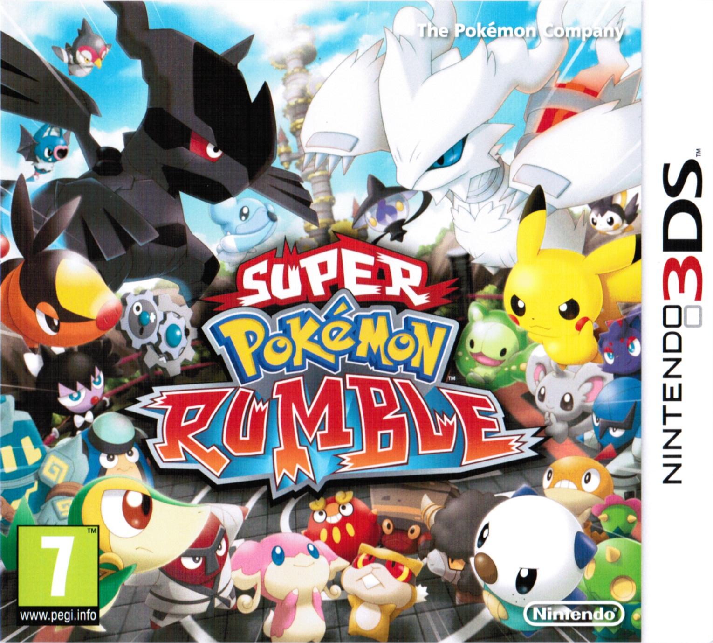 Nintendo 3ds Pokemon Games : Pokemon rumble blast box art