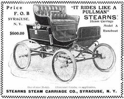 Stearns-auto 1903 steam