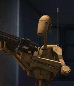 Unidentified B1 battle droid 11 (Malevolence)