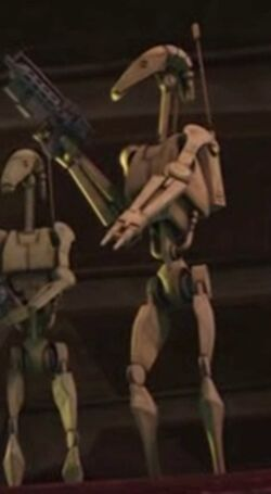 Unidentified B1 battle droid 16 (Malevolence)