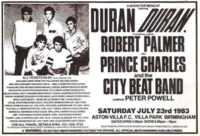 ASTON VILLA PARK WIKIPEDIA DURAN DURAN FOOTBALL CLUB CONCERT 1983
