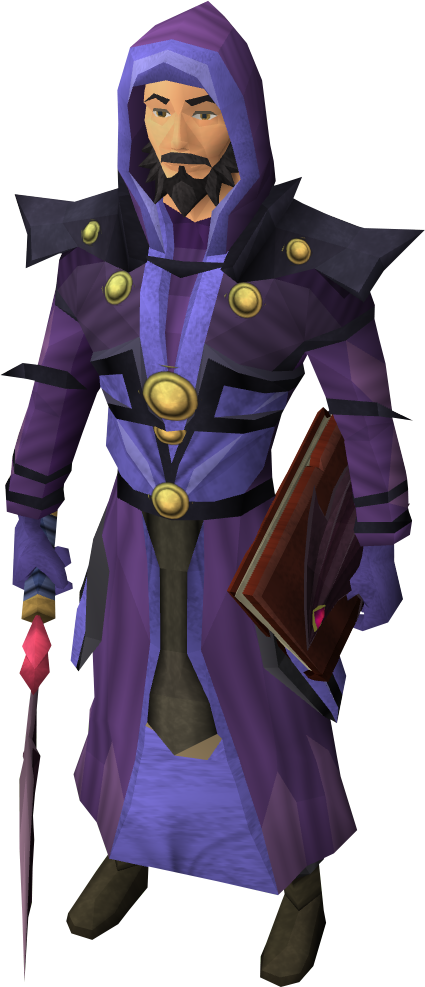 Batwing robes the runescape wiki for Portent runescape