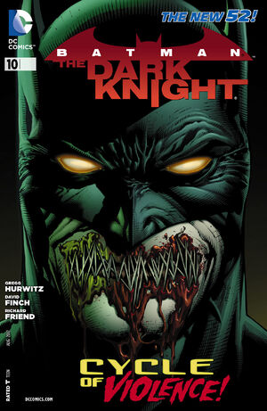 Cover for Batman: The Dark Knight #10