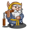 Nunchucks Gnome-icon
