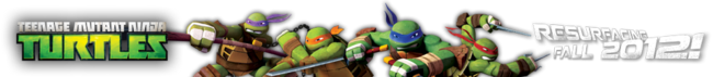 TMNT 2012 logo masthead