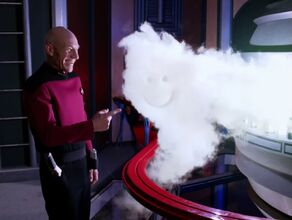 Picard experiencing temporal narcosis