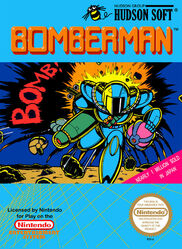 Bomberman NES US Box