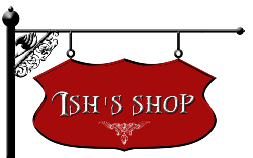 Ish&#39;s shop logo