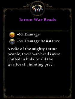 Jottun War Beads
