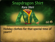 Snapdragon Shirt