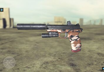 Future Soldier FN FNP-45 Tactical Website 6