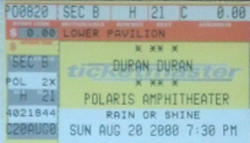 Polaris Amphitheater, Columbus, OH, USA