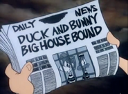 Duck&amp;BunnyBigHouseBoundNewspaper