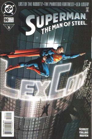 Cover for Superman: Man of Steel #90