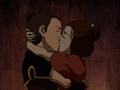 Sokka and Suki kiss in prison.png