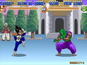 Vegeta vs Piccolo Dragon Ball Z (arcade game)