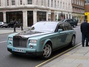 R-R Phantom in London