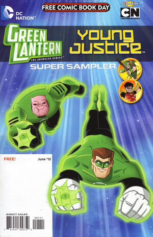 Cover for DC Nation FCBD Super Sampler/Superman Family Adventures Flip Book #1