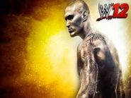 Wwe 12 orton is on the cover