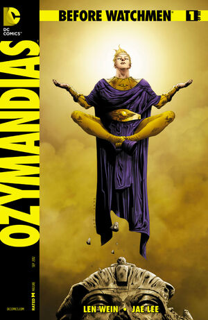 Cover for Before Watchmen: Ozymandias #1