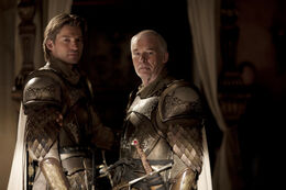 Jaime Lannister y Barristan Selmy HBO