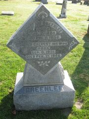 William-Greenlee tombstone