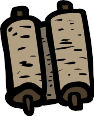 Dead Sea Scrolls Icon