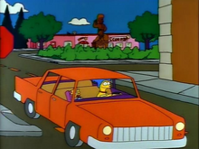 Marge&#39;s Sedan (Simpsons Wiki)