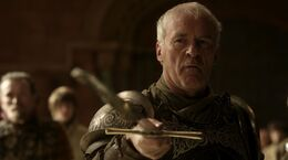 Barristan Selmy renunciado a la Guardia Real HBO