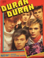1983 Duran Duran A4 Special Collectors Magazine No2