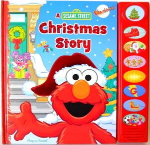 Casey sanborn sesame street christmas story play-a-sound