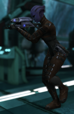 Asari commando