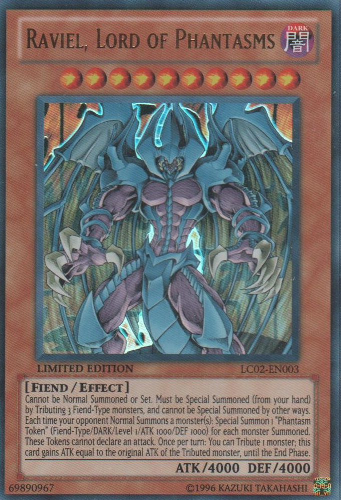 Raviel  Lord of Phantasms - Yu-Gi-Oh Yugioh Gx Raviel Lord Phantasms