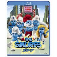 The Smurfs Japanese Combo Pack -Blu-ray and DVD-