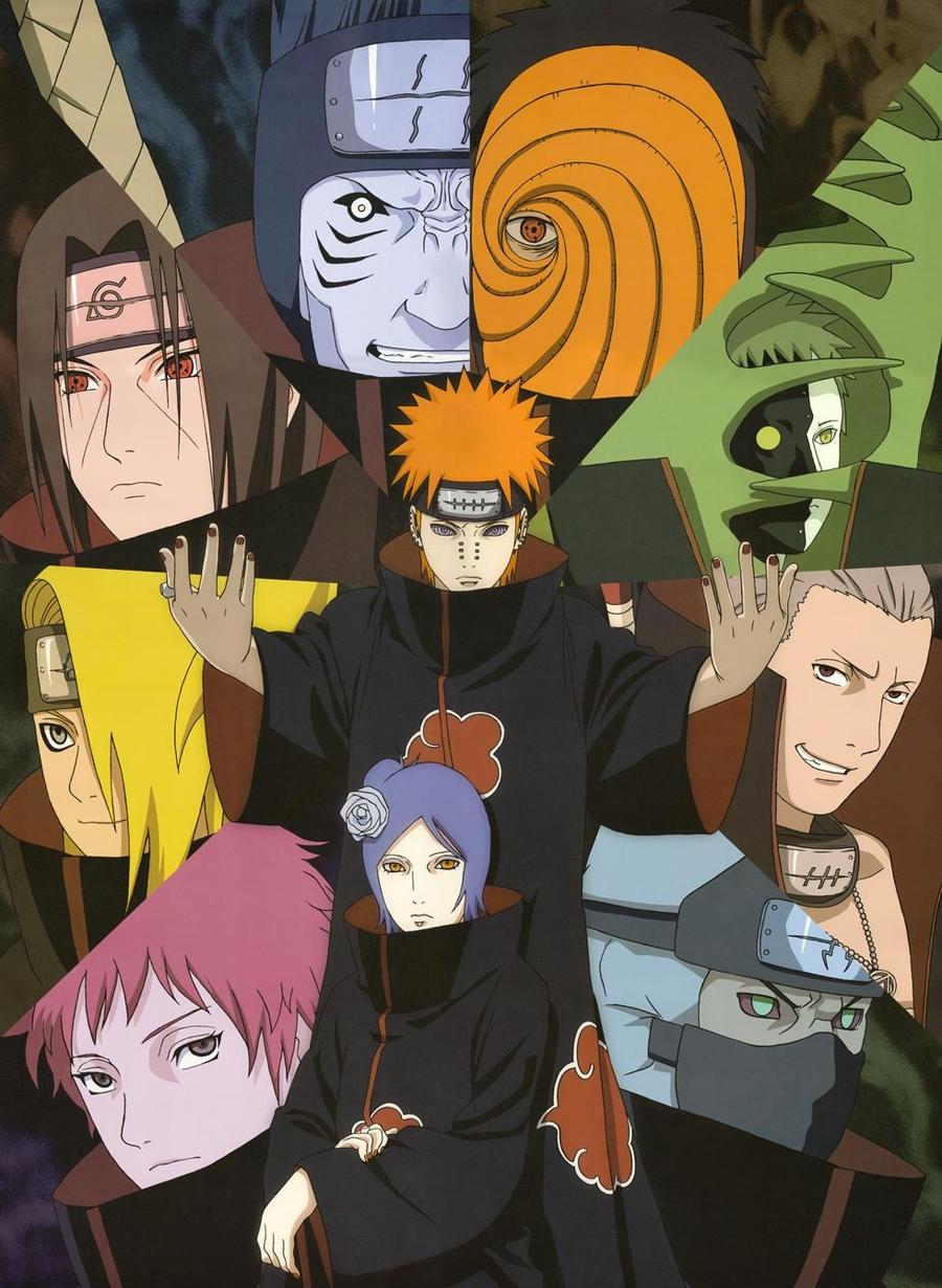 Download this Akatsuki Narutopedia Naruto Shippuuden Sasuke Kakashi