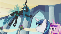Queen Chrysalis roam free S2E26