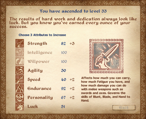 Level Up (Oblivion)