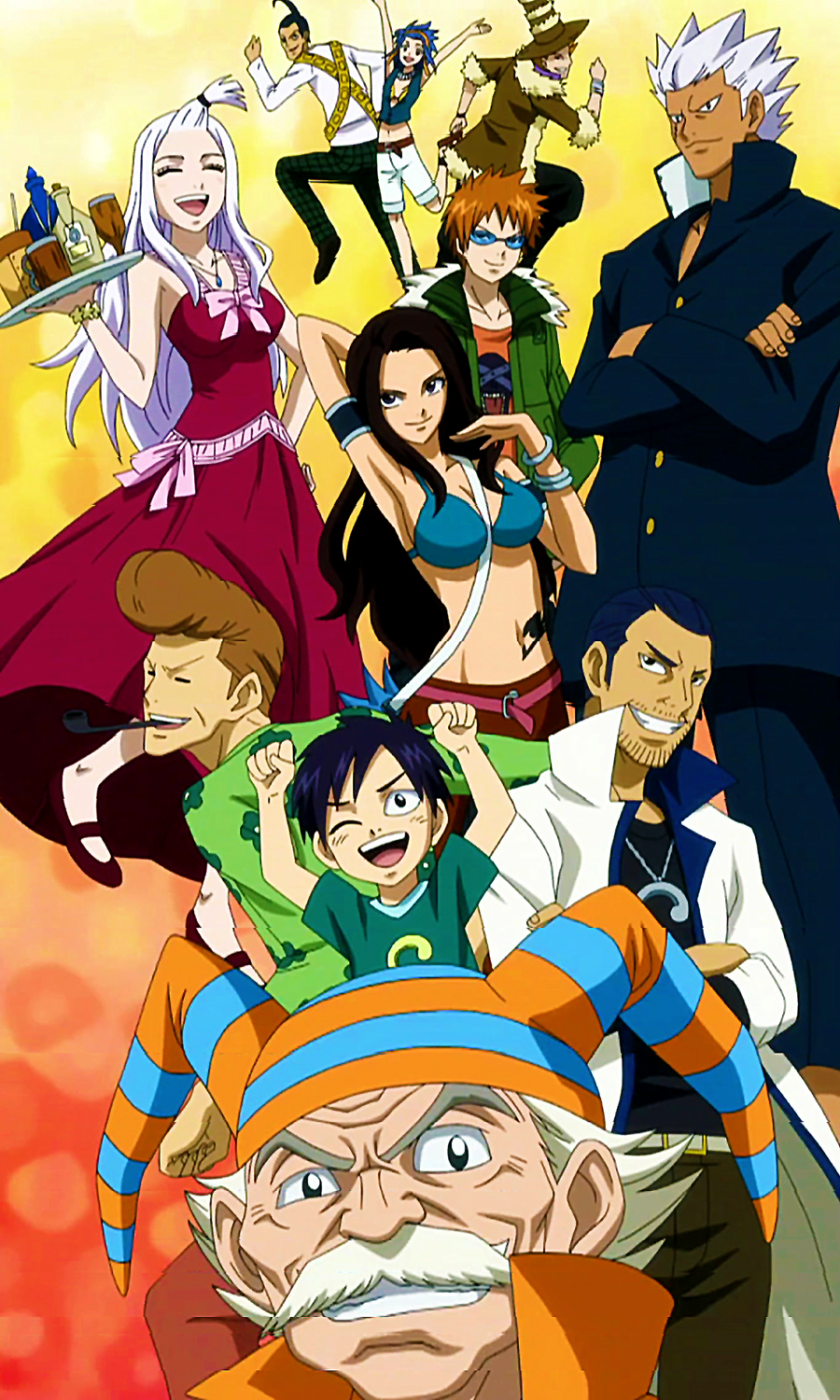 fairy tail characters list Google Search Fairy tail