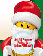 Santa minifigures