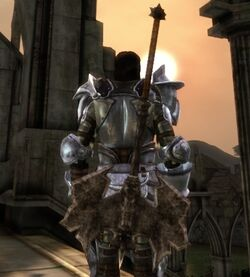 Darkspawn Battleaxe