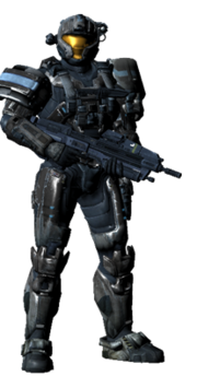 Halo Reach SPARTAN CQB Black 2