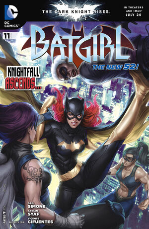 Cover for Batgirl #11