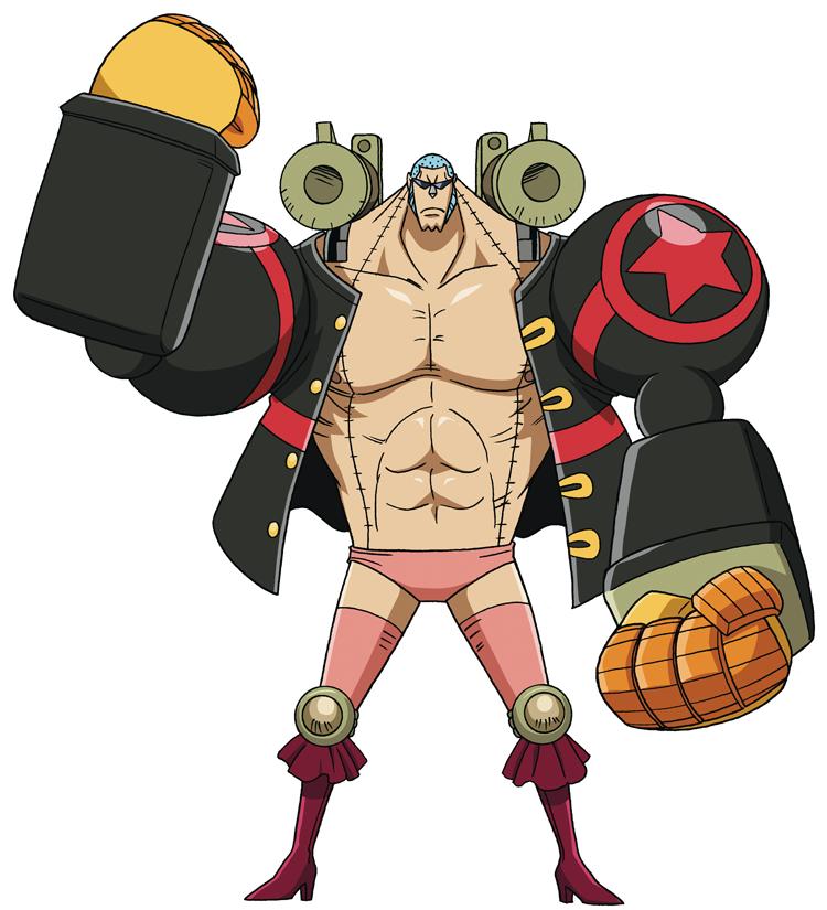One Piece Movie Z (Movie 12) Franky-film-Z